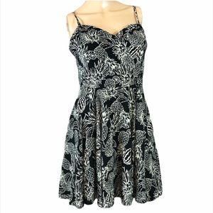 Aritzia Talula Lipinski Flare Mini Dress